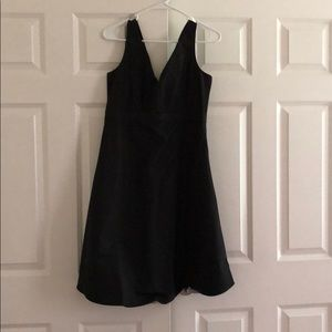 Gap V neck little black dress maternity NWT size 4